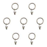 Home Classics® 7-pk. Curtain Clip Rings