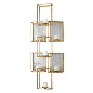 Ronana Metal Candle Wall Sconce