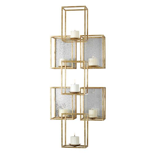 Uttermost Ronana Metal Candle Wall Sconce