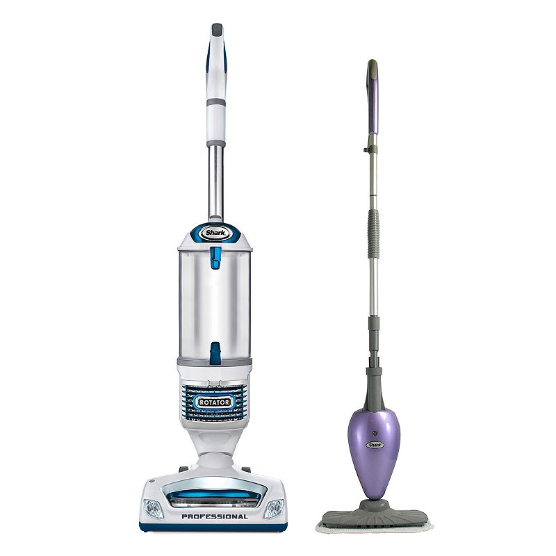 Shark NV510 Rotator Professional 3-in-1 Lift-Away Upright Vacuum & S3101 Steam Mop, Multicolor