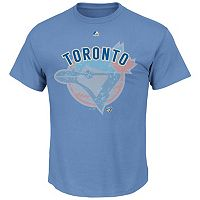 Big & Tall Majestic Toronto Blue Jays Cooperstown Collection League Domination Tee