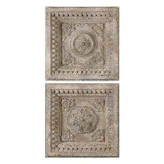 Uttermost Auronzo Squares 2-piece Wall Art Set