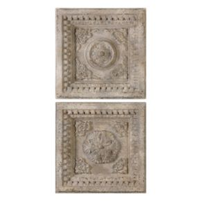 Auronzo Squares 2-piece Wall Art Set