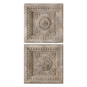 Auronzo Squares 2-piece Wall Art Set