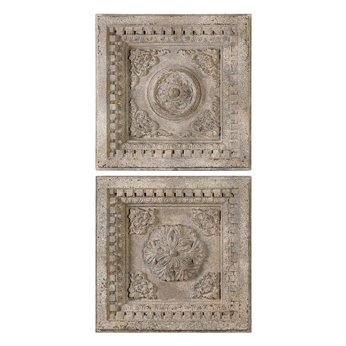 Uttermost Auronzo Squares 2-piece Wall Art Set