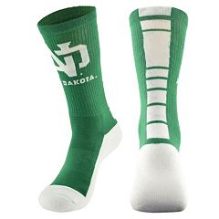 Men's Mojo North Dakota Champ 1/2-Cushion Performance Crew Socks