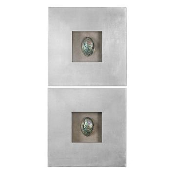 Abalone Shells 2-piece Wall Art Set