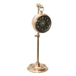 Pocket Watch Brass Table Decor