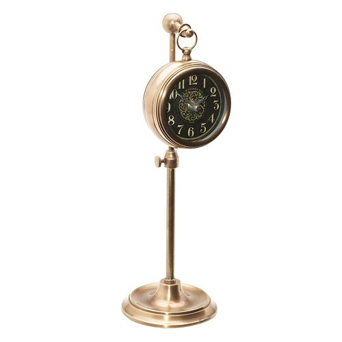 Pocket Watch Brass Table Decor