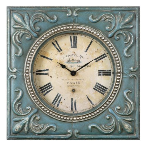 Canal St. Martin Wall Clock