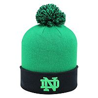 Adult Top of the World Notre Dame Fighting Irish Pom Beanie