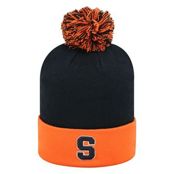Adult Top of the World Syracuse Orange Pom Knit Hat