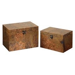 Ambrosia 2 pc Decorative Box Set