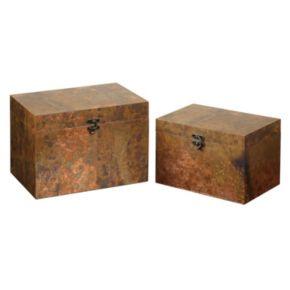 Ambrosia 2-piece Decorative Box Set