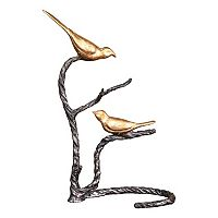 Birds on a Limb Metal Table Decor