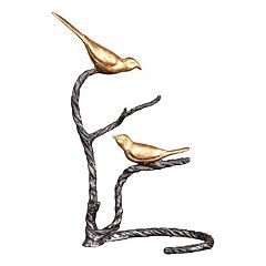 Uttermost Birds on a Limb Metal Table Decor