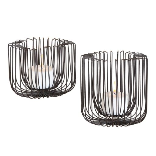 Flare 2-piece Candle Holder Set