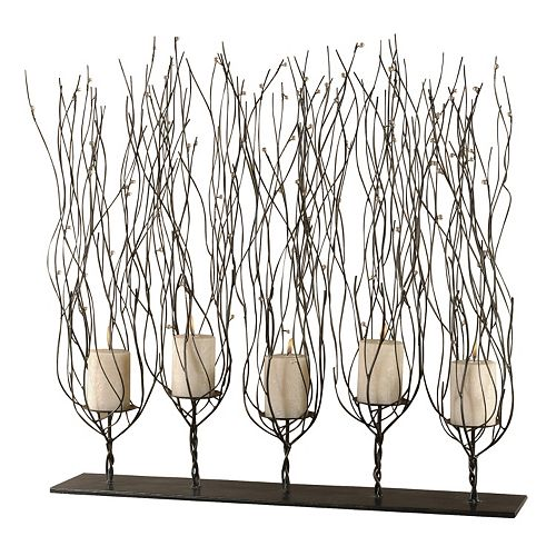 Uttermost Fedora Branch Candle Holder Stand
