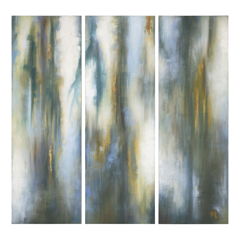 Uttermost ''Moonglow'' 3-piece Canvas Wall Art Set by Grace Feyock