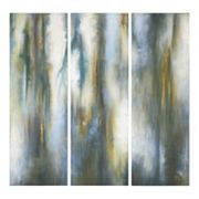 ''Moonglow'' 3 pc Canvas Wall Art Set by Grace Feyock