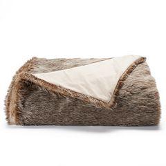 Jennifer Lopez Luxury Faux Fur Throw