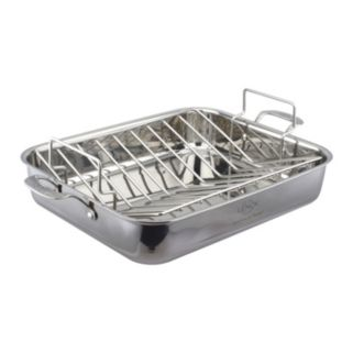 Lenox Tri-Ply Clad 18/10 Stainless Steel 16-in. Roaster