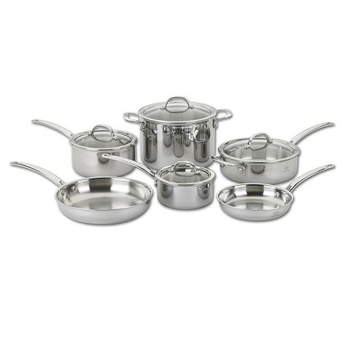 Lenox Tri-Ply Clad 18/10 Stainless Steel 10-pc. Cookware Set