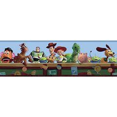 Disney / Pixar Toy Story Toy Chest Wall Border