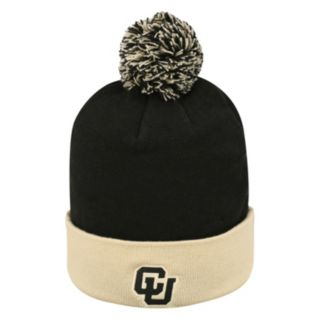 Adult Top of the World Colorado Buffaloes Pom Knit Hat