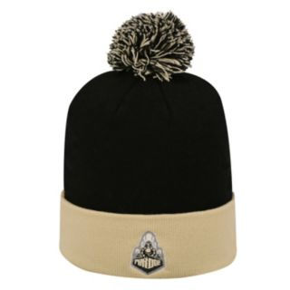 Adult Top of the World Purdue Boilermakers Pom Knit Hat