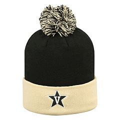 Adult Top of the World Vanderbilt Commodores Pom Knit Hat