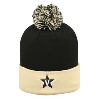 Adult Top of the World Vanderbilt Commodores Pom Knit Hat