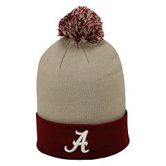 Adult Top of the Wold Alabama Crimson Tide Knit Pom Pom Hat
