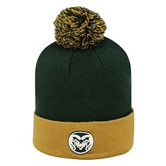 Adult Top of the World Colorado State Rams Pom Knit Hat
