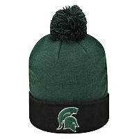 Adult Top of the World Michigan State Spartans Pom Knit Hat