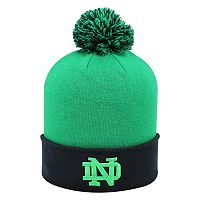 Adult Top of the World Notre Dame Fighting Irish Pom Knit Hat