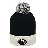 Adult Top of the World Penn State Nittany Lions Pom Knit Hat