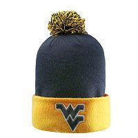 Adult Top of the World West Virginia Mountaineers Pom Knit Hat