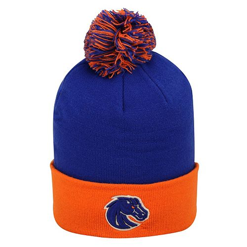 Adult Top of the World Boise State Broncos Pom Knit Hat