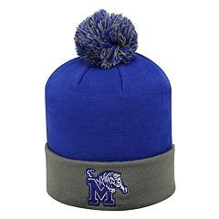 Adult Top of the World Memphis Tigers Pom Knit Hat