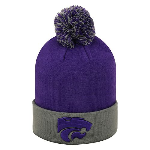 special section super specials better Adult Top of the World Kansas State Wildcats Pom Knit Hat