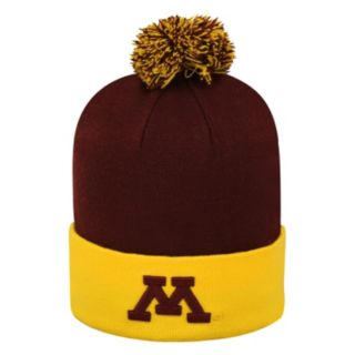 Adult Top of the World Minnesota Golden Gophers Pom Knit Hat