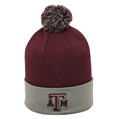 Adult Top of the World Texas A&M Aggies Pom Knit Hat