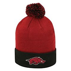 Adult Top of the Wold Arkansas Razorbacks Knit Pom Pom Hat