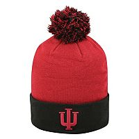 Adult Top of the World Indiana Hoosiers Pom Knit Hat