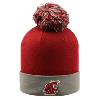 Adult Top of the Wold Washington State Cougars Knit Pom Pom Hat