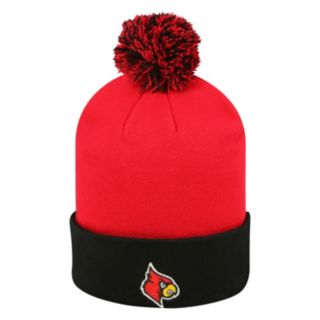 Adult Top of the World Louisville Cardinals Pom Knit Hat