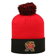 Adult Top of the World Maryland Terrapins Pom Knit Hat