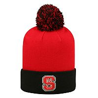 Adult Top of the World North Carolina State Wolfpack Pom Knit Hat