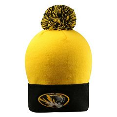 Adult Top of the Wold Missouri Tigers Knit Pom Pom Hat